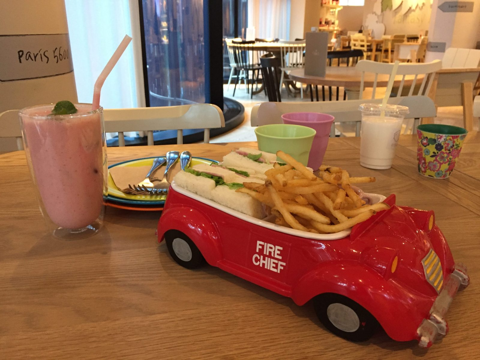Kids friendly restaurant Seoul