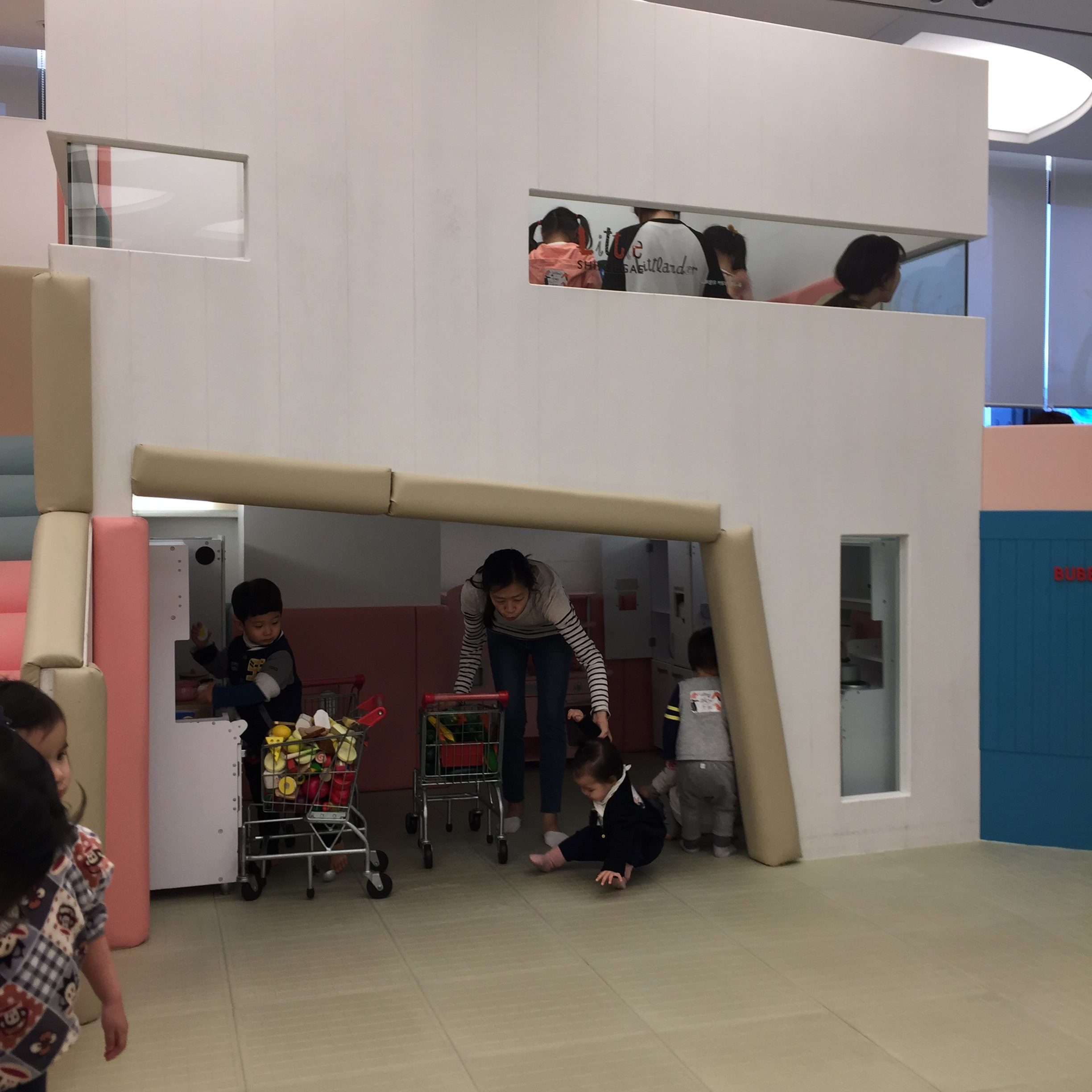 Kids toddler friendly places Seoul
