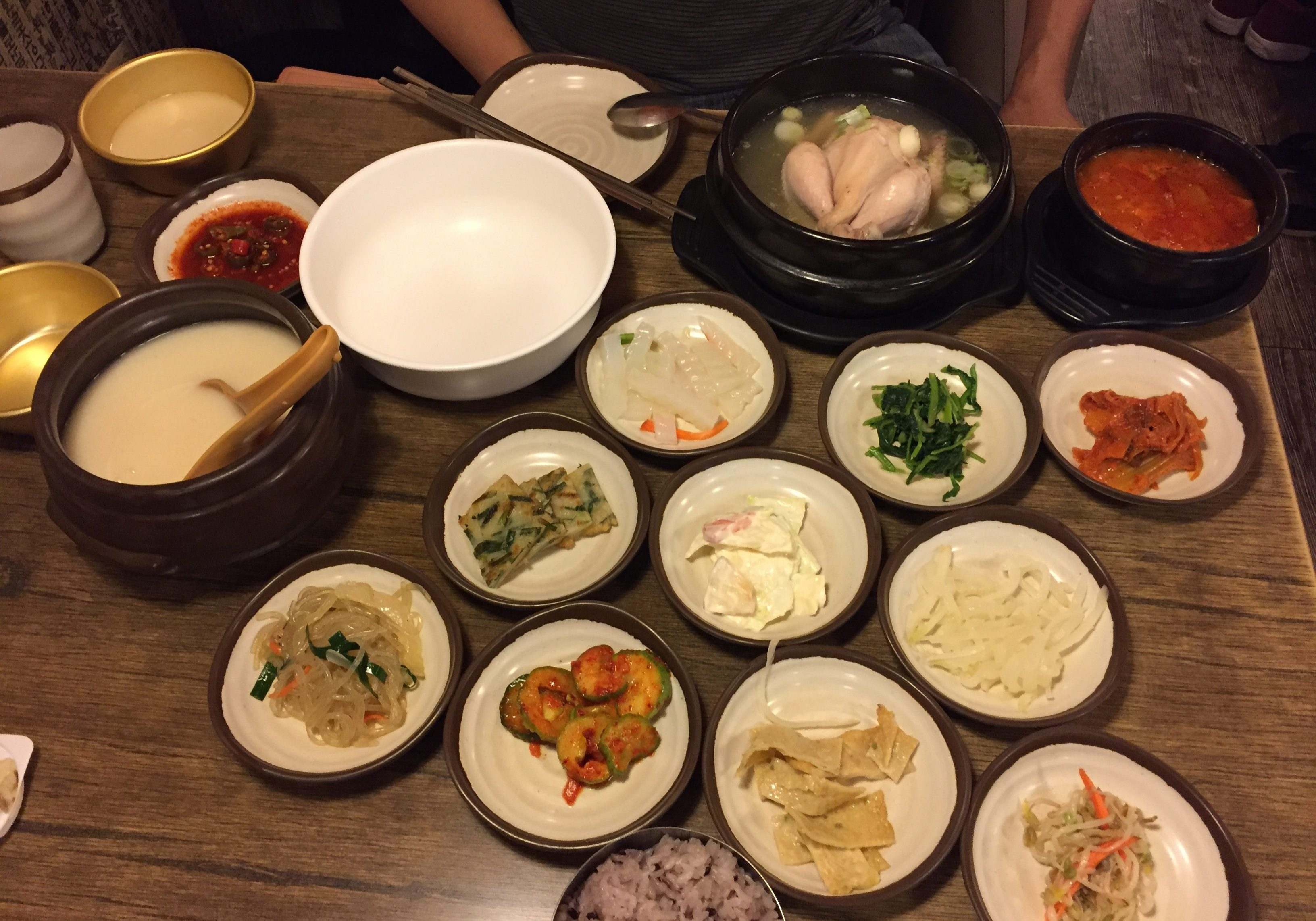 My Traditional Korean Meal! yay!
